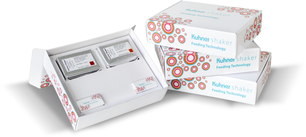 Kuhner Test-Kit Feeding-Technologie